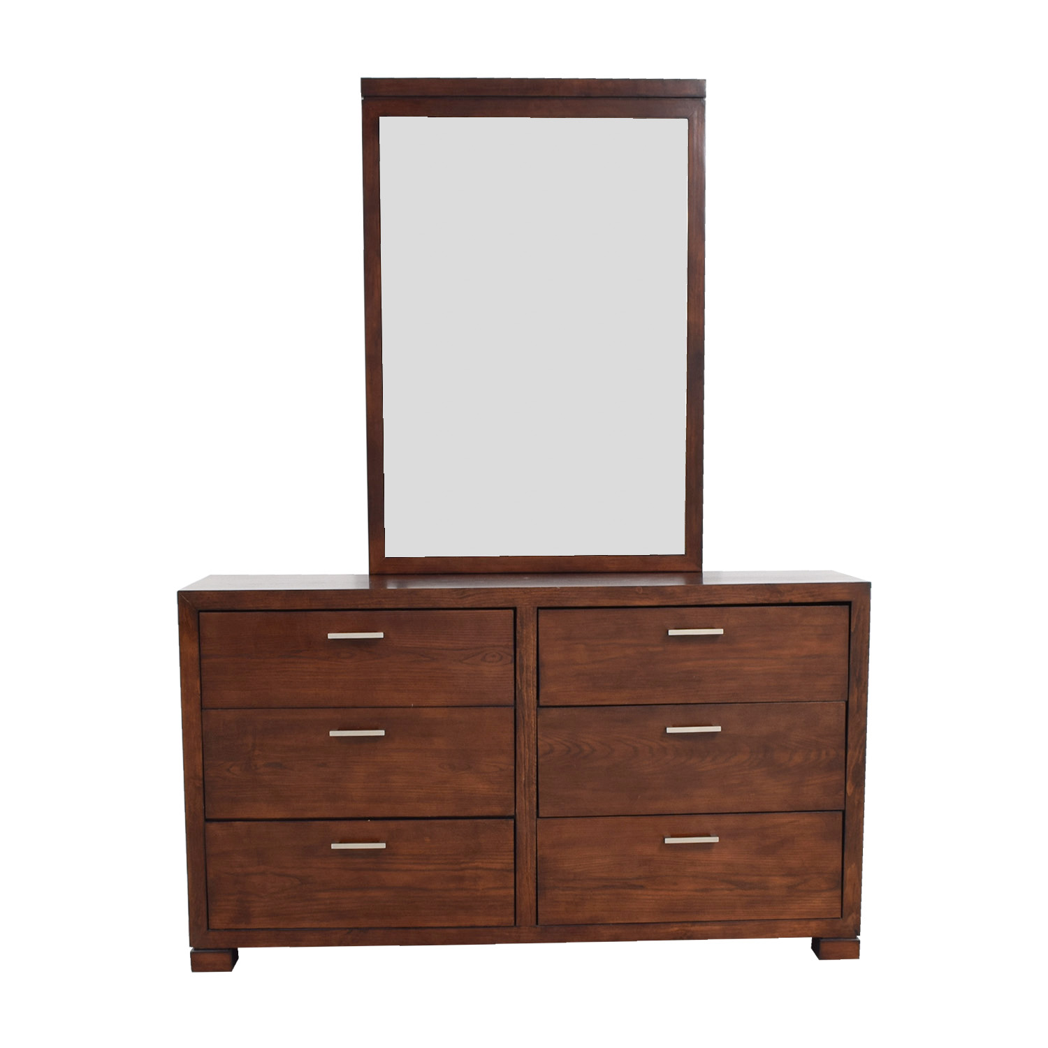 Macy S Six Drawer Dresser With Mirror Dressers
