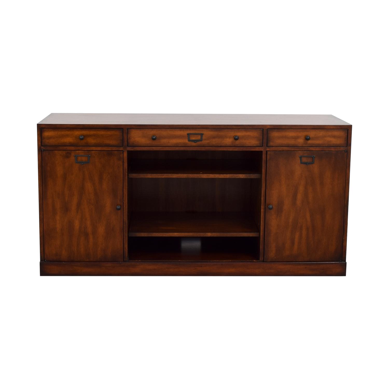 ABC Carpet & Home ABC Carpet & Home Media Console Storage Cabinet for sale