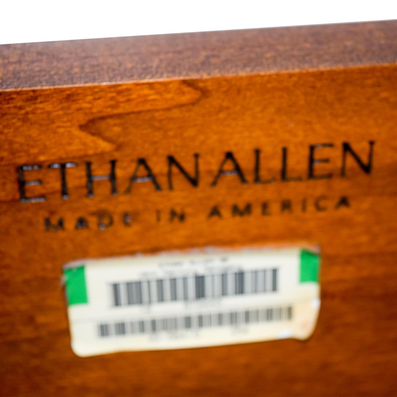 Ethan Allen Ethan Allen Cherry British Classics Queen Size Poster Bed nj