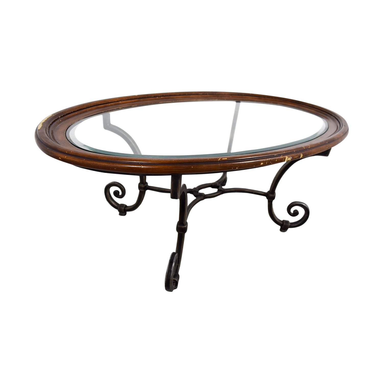 Ethan Allen Ethan Allen Glass Coffee Table Tables