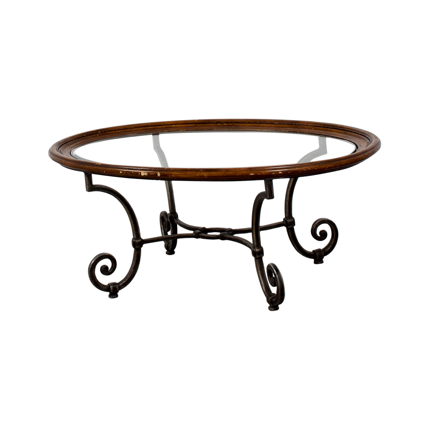 Ethan Allen Ethan Allen Glass Coffee Table coupon