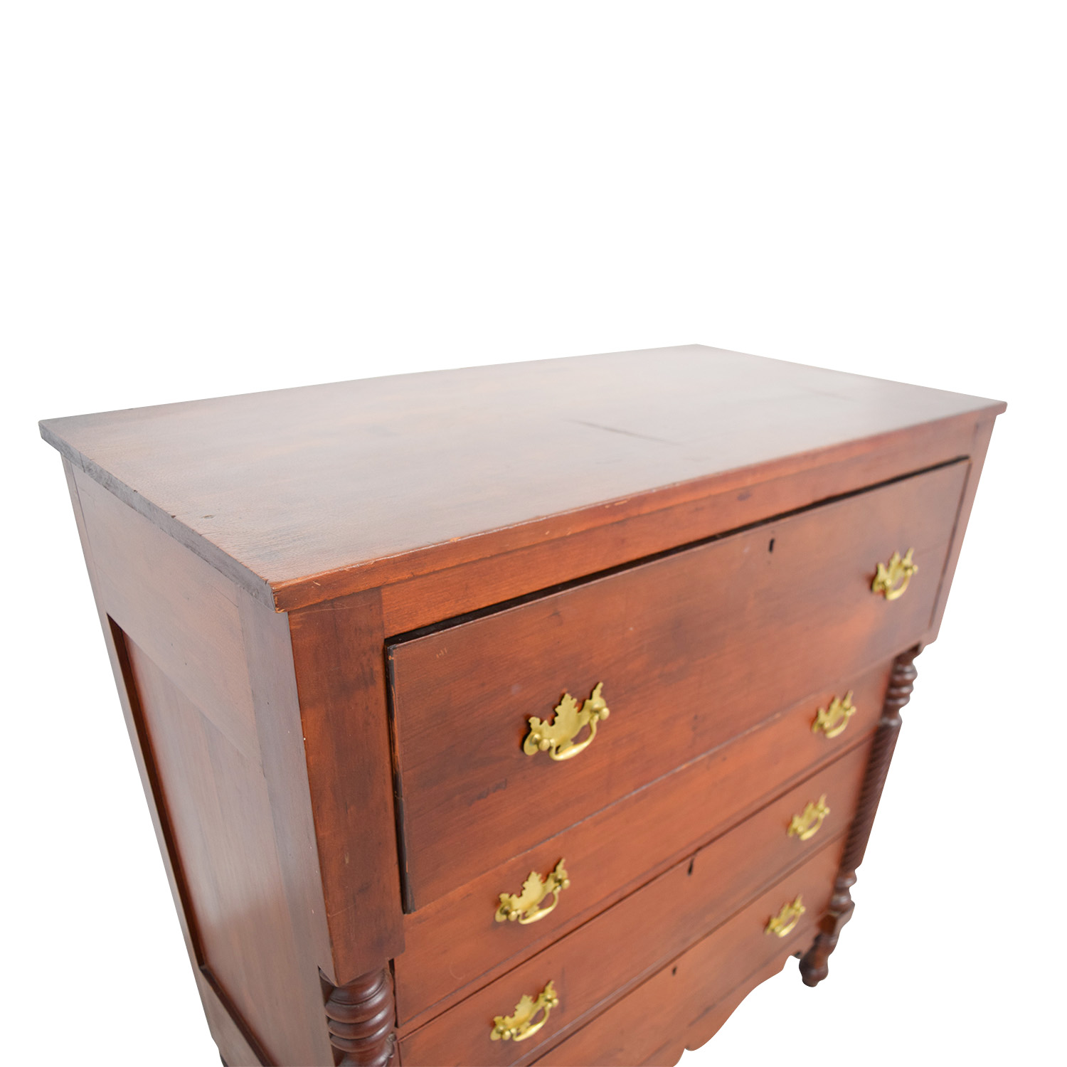 shop Antique American Empire Cherry Four-Drawer Dresser Dressers