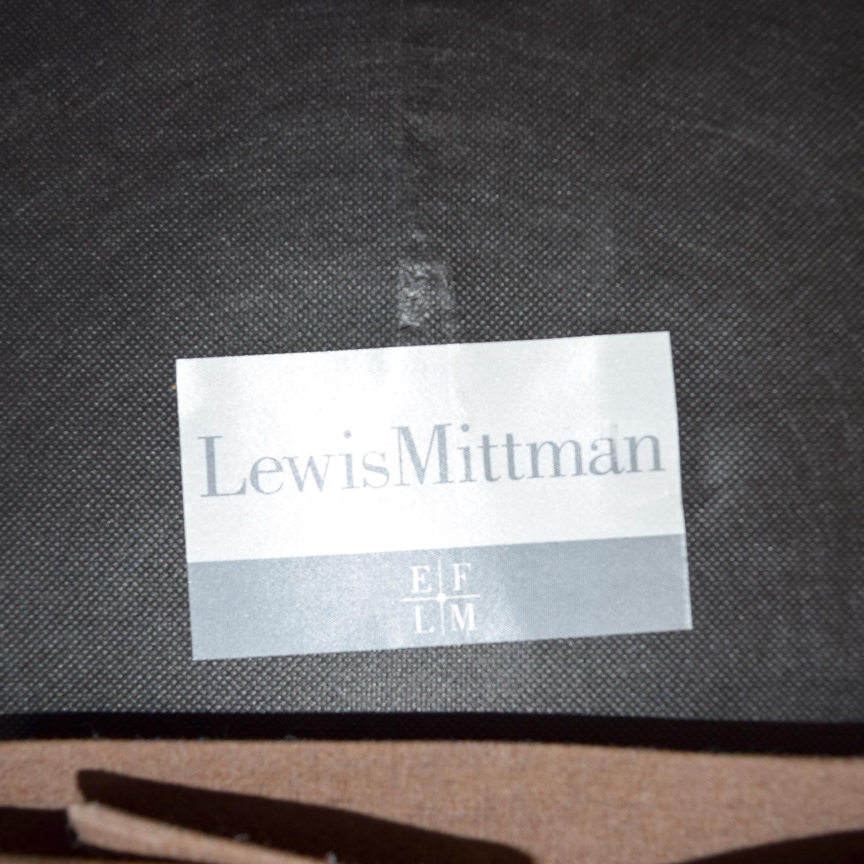 buy Lewis Mittman Lewis Mittman Custom Brown Tufted Sofa online