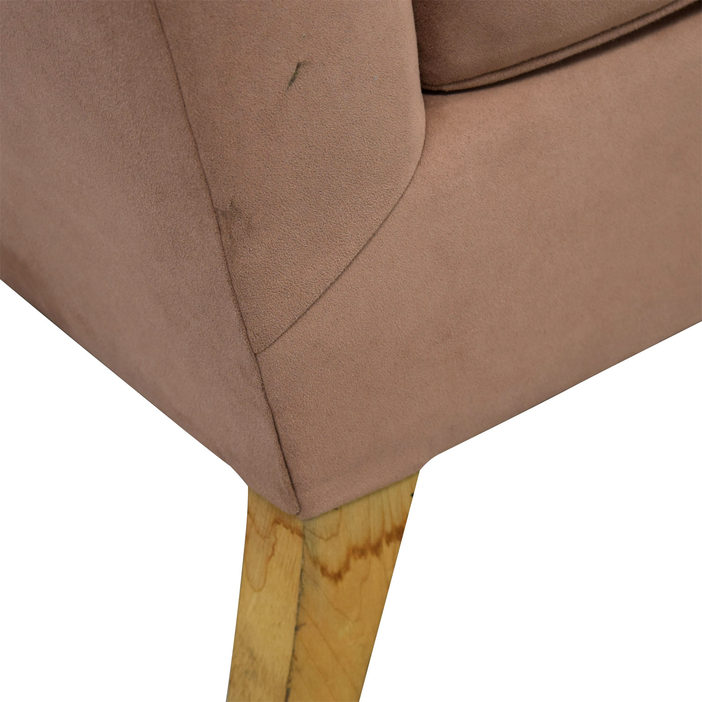 Furniture Masters Custom Tan Two Seater Sofa sale