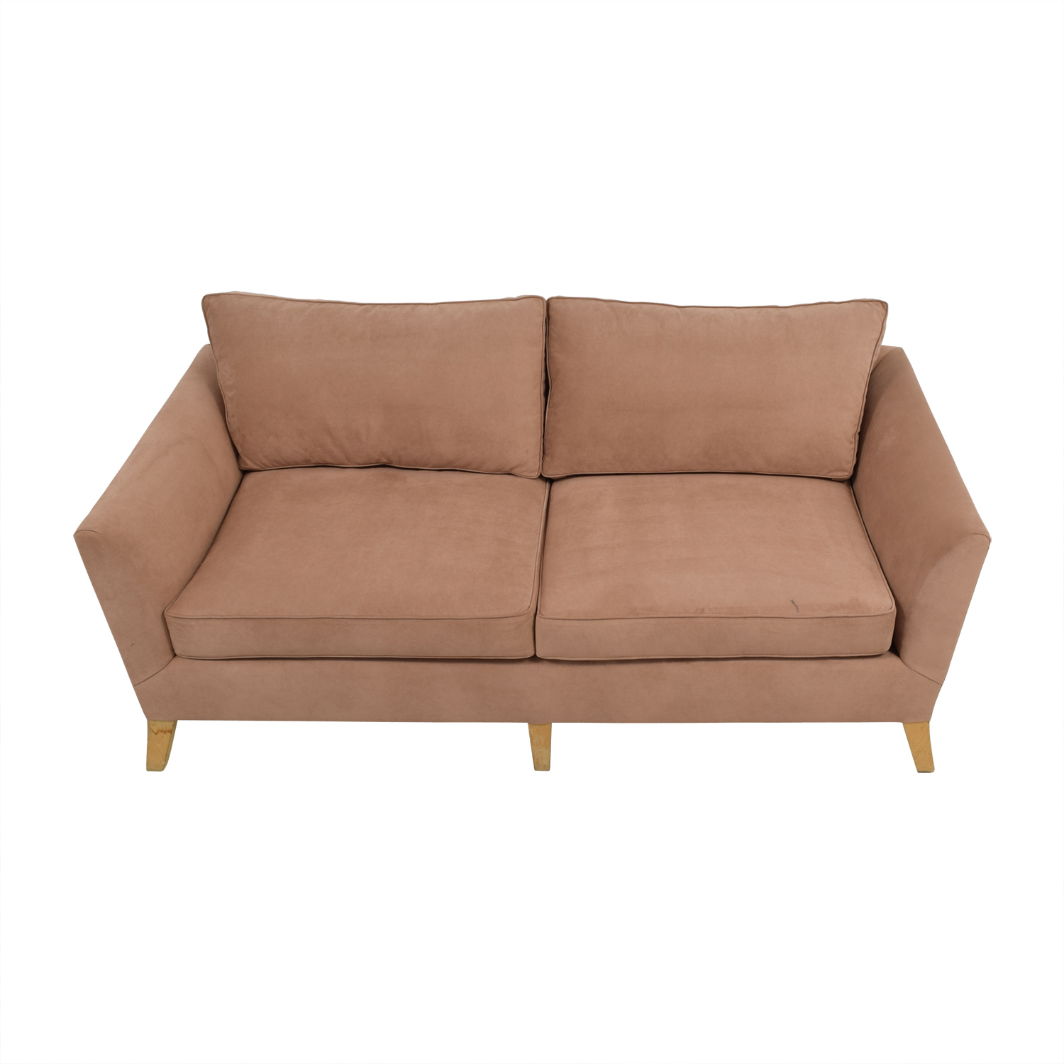 Furniture Masters Furniture Masters Custom Tan Two Seater Sofa tan