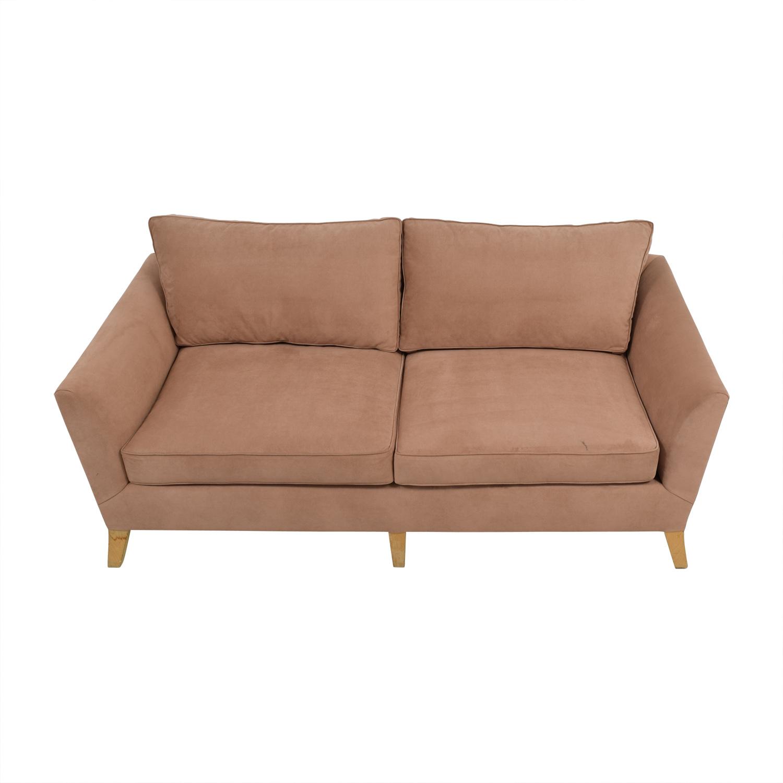 Furniture Masters Custom Tan Two Seater Sofa / Classic Sofas