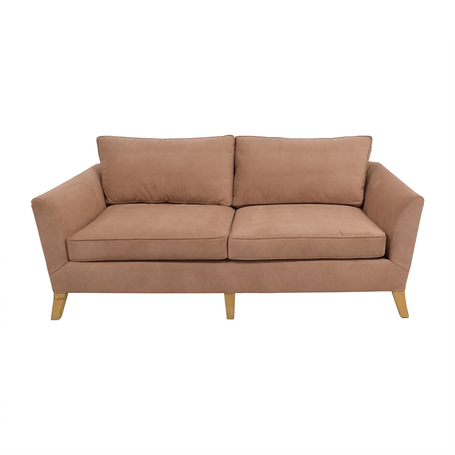 shop Furniture Masters Furniture Masters Custom Tan Two Seater Sofa online