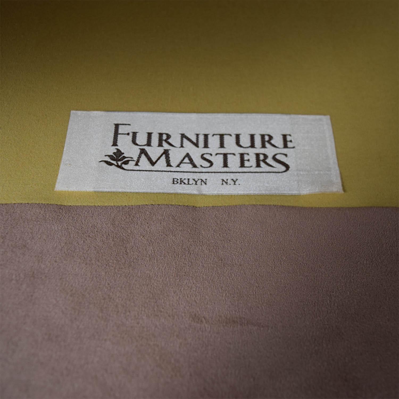 Furniture Masters Furniture Masters Custom Tan Two Seater Sofa used