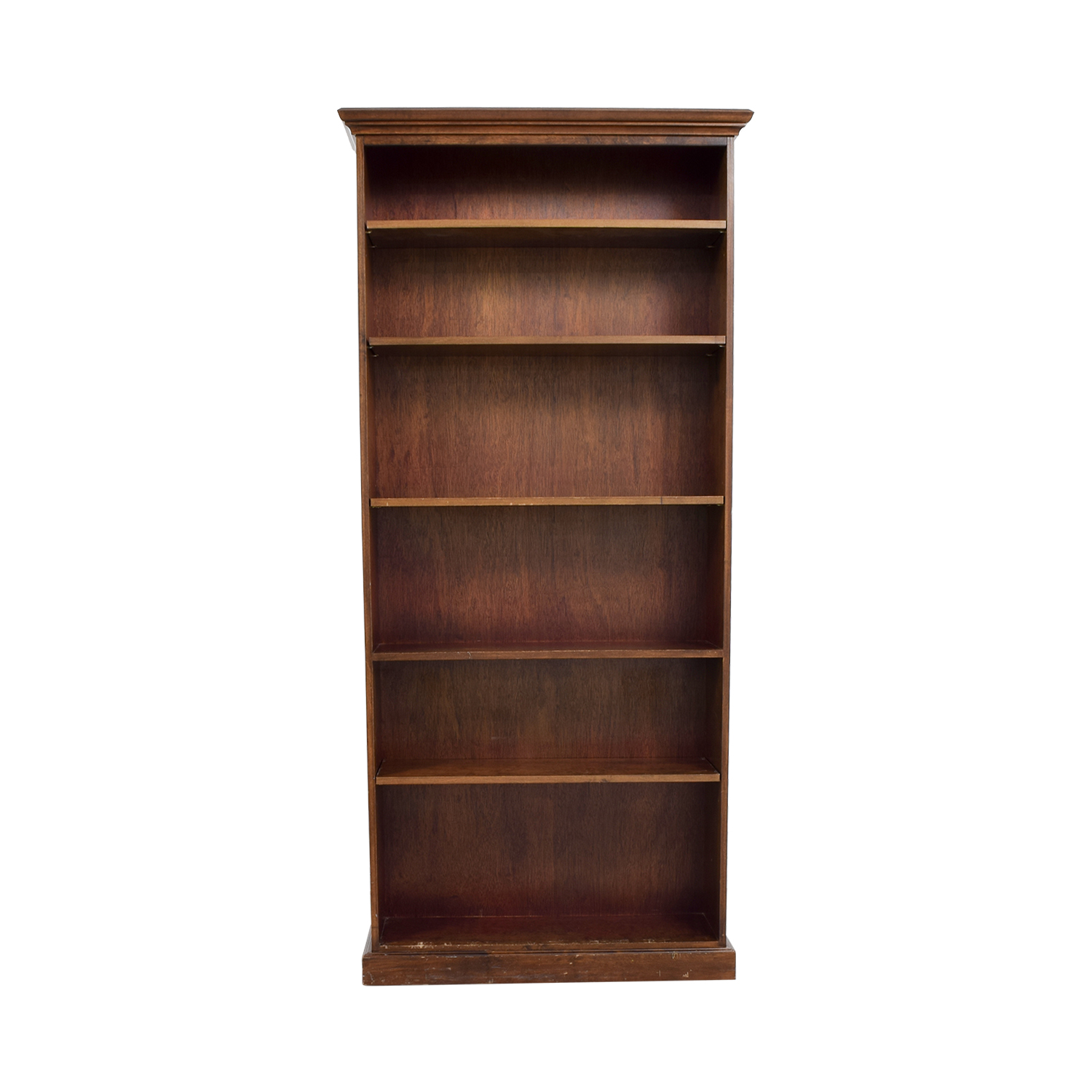 buy Five Shelf Wood Book Shelf Storage