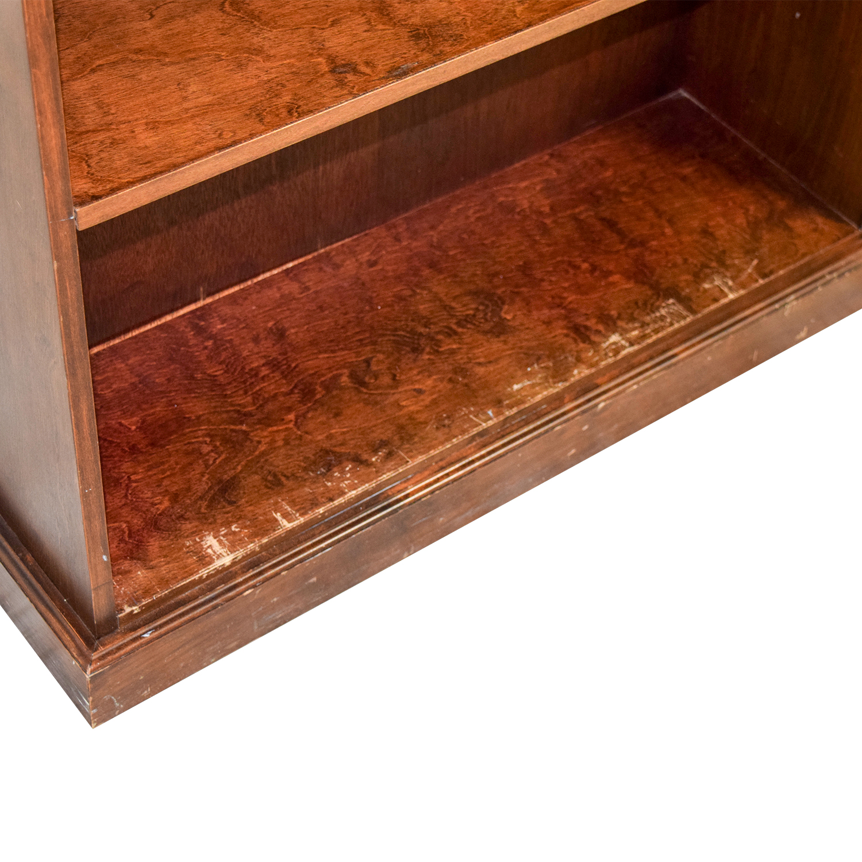 buy Five Shelf Wood Book Shelf Bookcases & Shelving