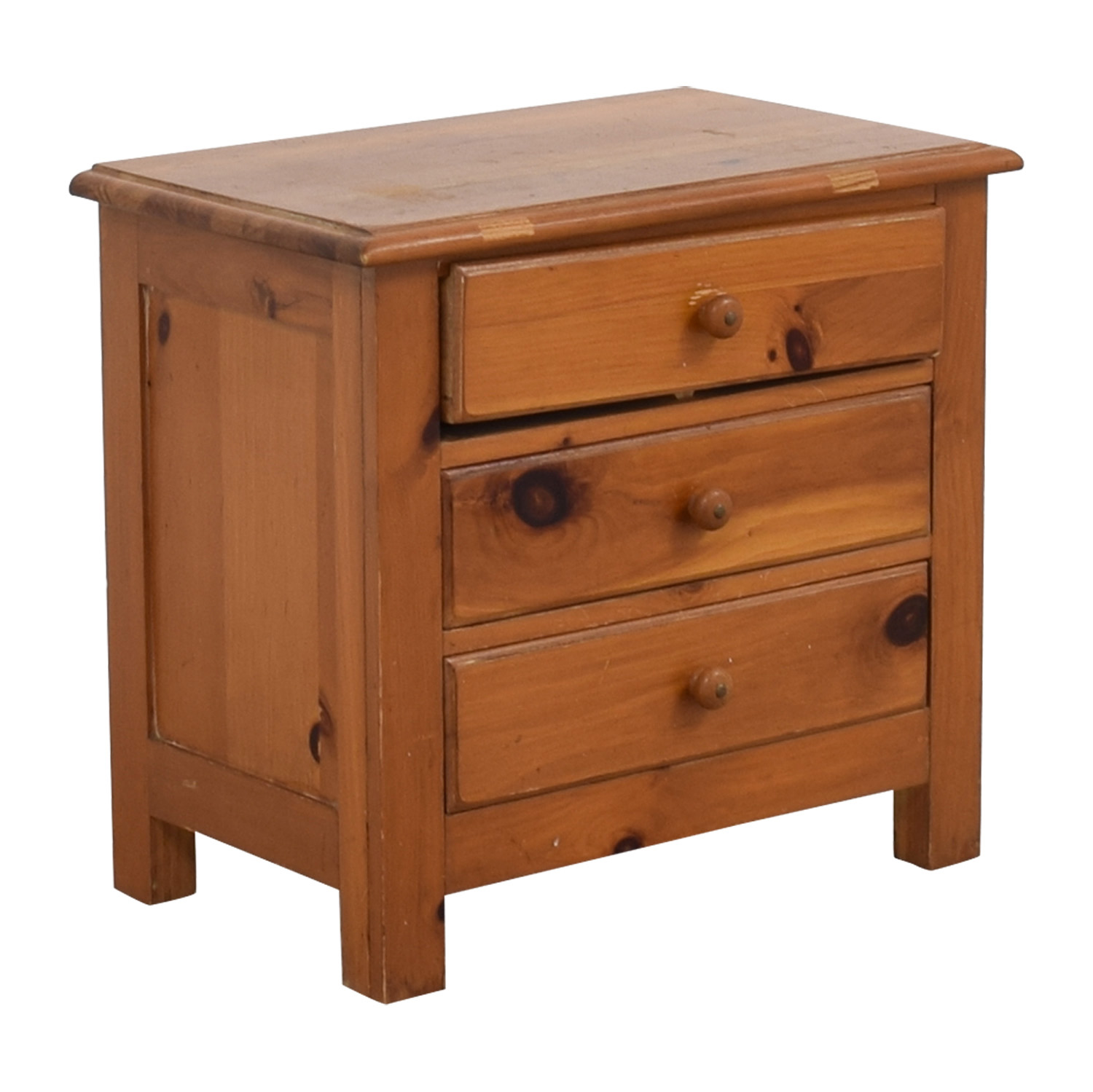 Three-Drawer Side Table sale