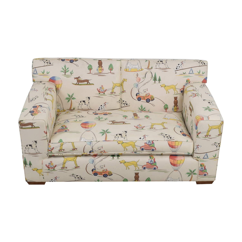 Furniture Masters Furniture Masters White Puppies Kids Sofa nyc