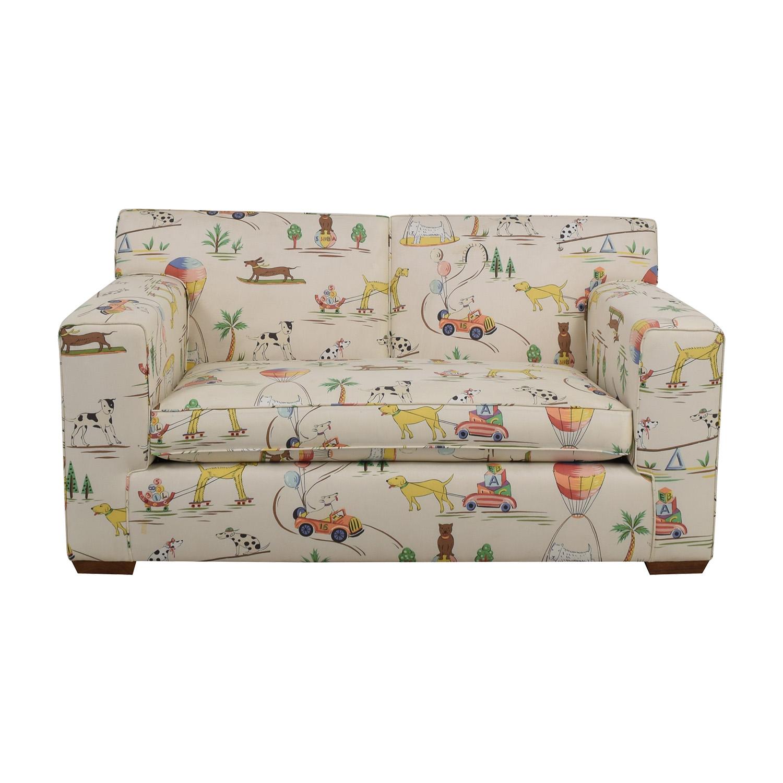 buy Furniture Masters Furniture Masters White Puppies Kids Sofa online