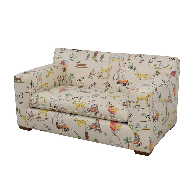 Furniture Masters Furniture Masters White Puppies Kids Sofa on sale