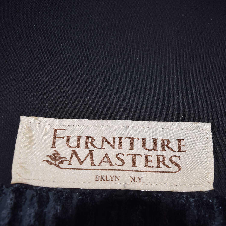 Furniture Masters Furniture Masters Blue Corduroy Loveseat used