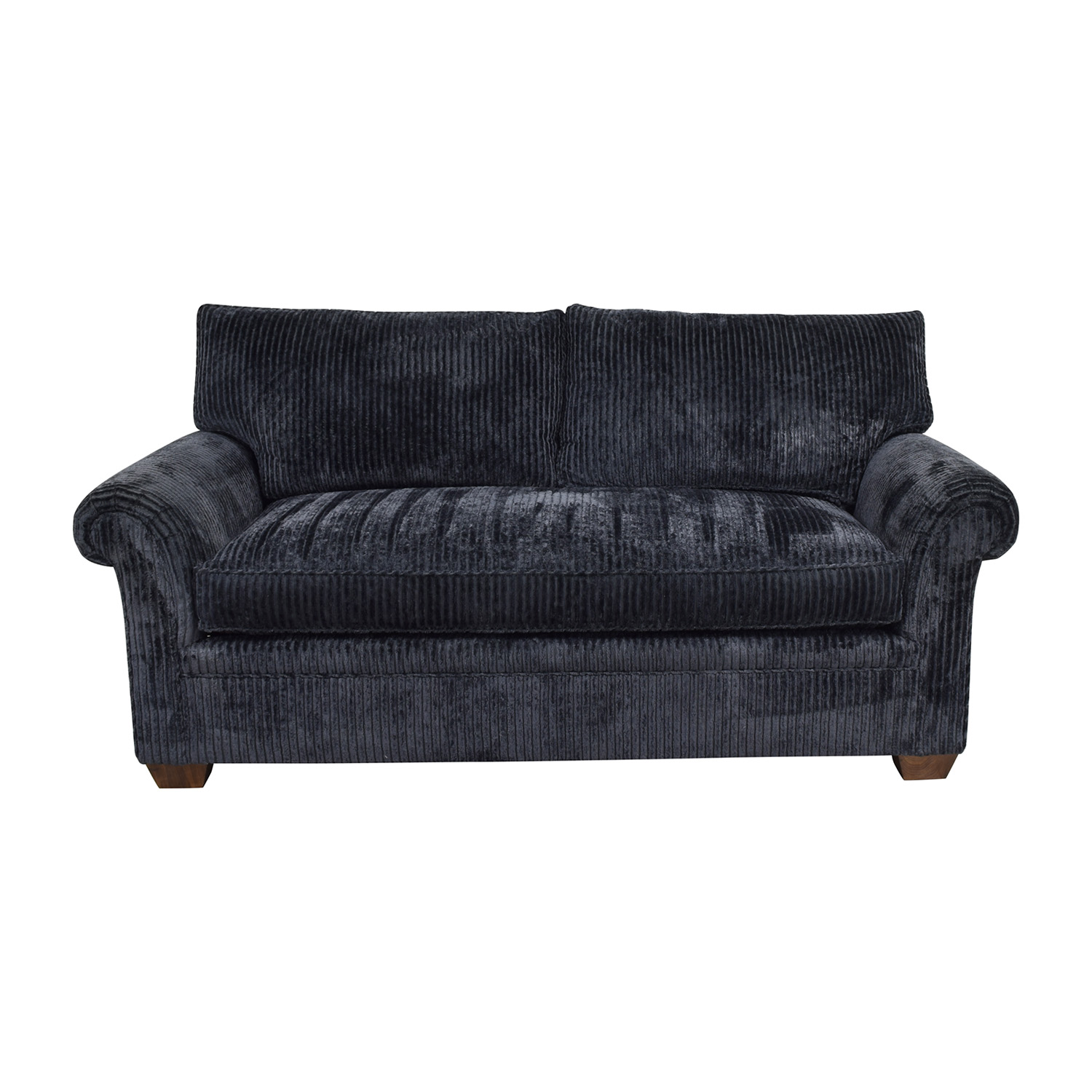 Phenomenal 70 Off Furniture Masters Furniture Masters Blue Corduroy Loveseat Sofas Andrewgaddart Wooden Chair Designs For Living Room Andrewgaddartcom