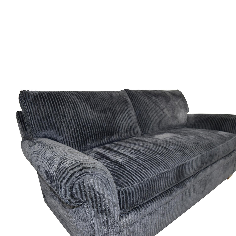 Furniture Masters Furniture Masters Blue Corduroy Loveseat coupon