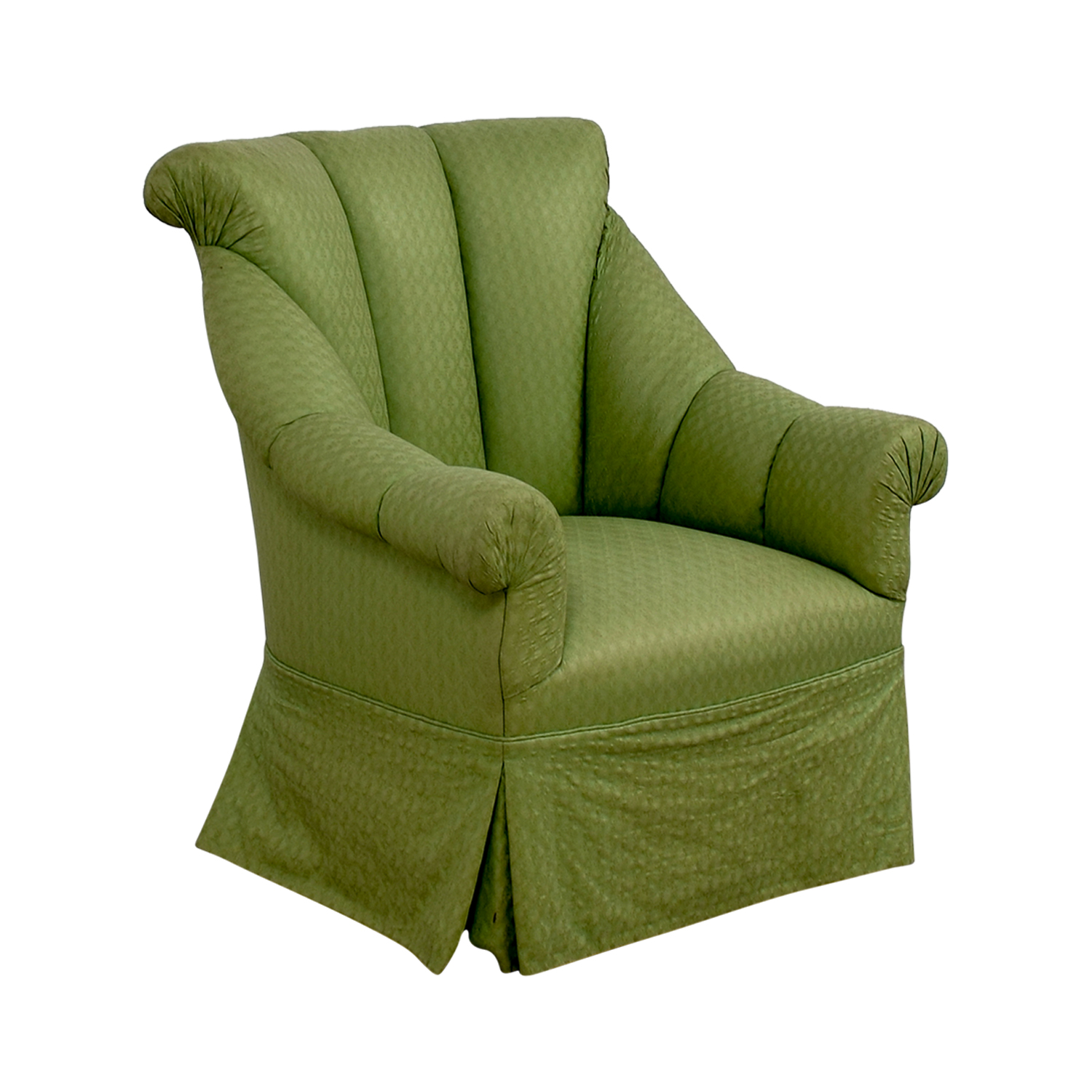 buy Furniture Masters Furniture Masters Green Skirted Armchair online