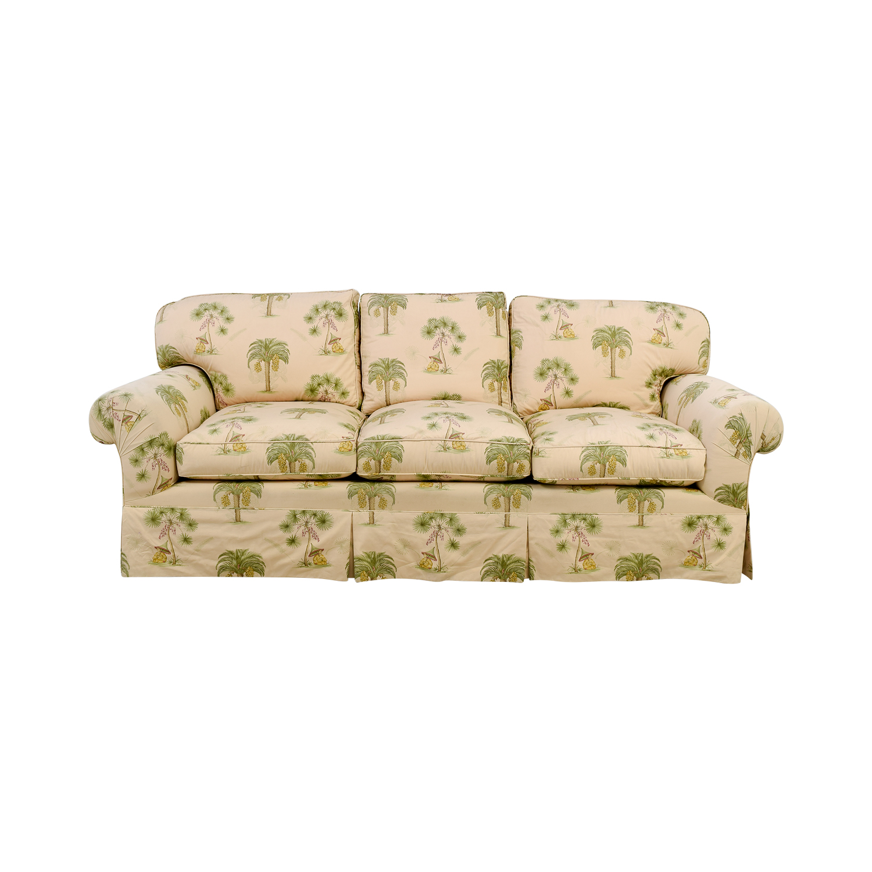 Furniture Masters Oriental Tree Three Cushion Sofa sale