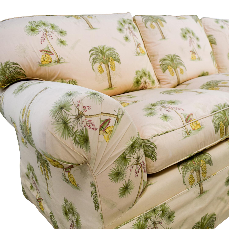 Furniture Masters Furniture Masters Oriental Tree Three Cushion Sofa