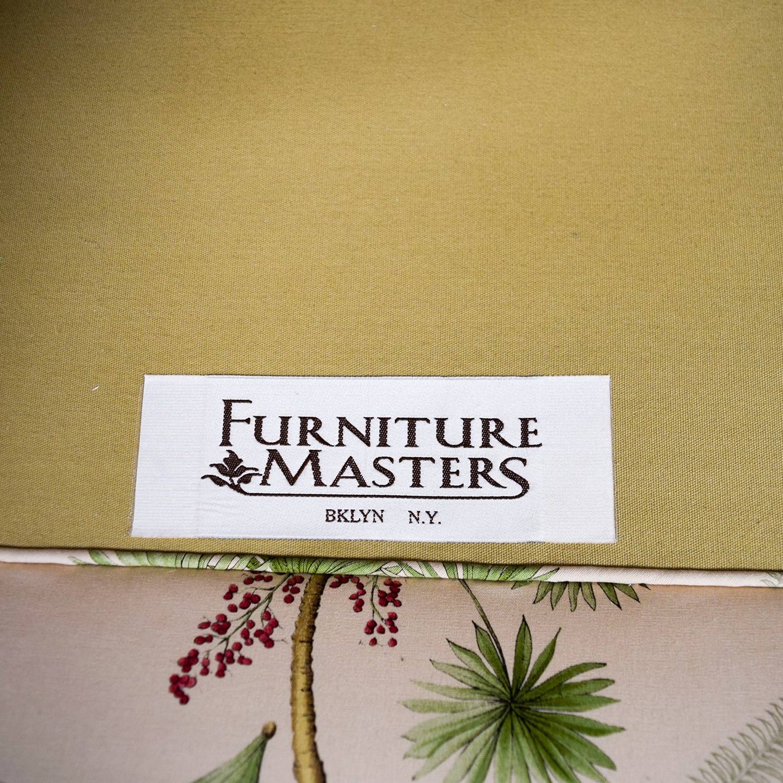 buy Furniture Masters Oriental Tree Three Cushion Sofa Furniture Masters Sofas