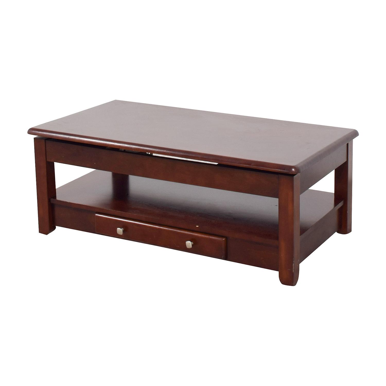 shop Raymour & Flanigan Lift Top Coffee Table Raymour & Flanigan Coffee Tables