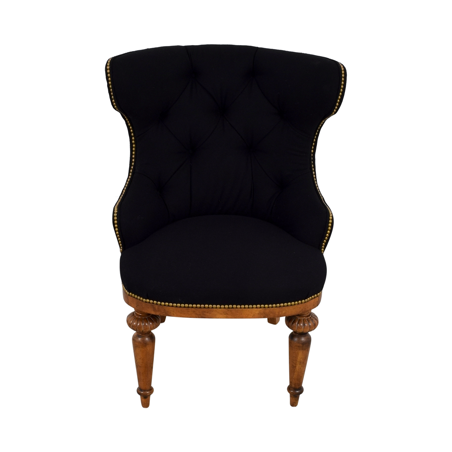 34% OFF Furniture Masters Furniture Masters Black Tufted
