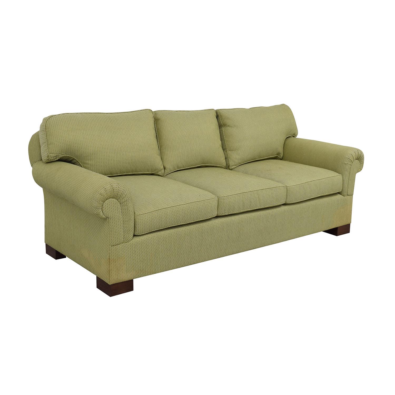 Furniture Masters Furniture Masters Green Three Seater Sofa discount