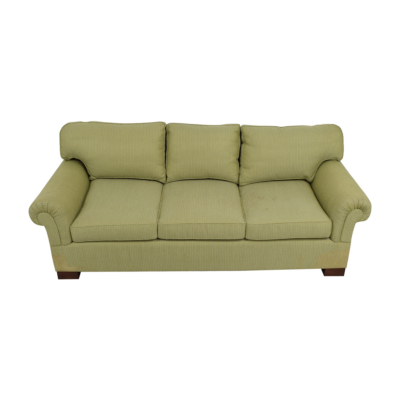 Furniture Masters Furniture Masters Green Three Seater Sofa nj