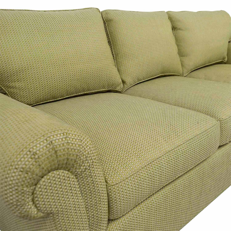 buy Furniture Masters Green Three Seater Sofa Furniture Masters