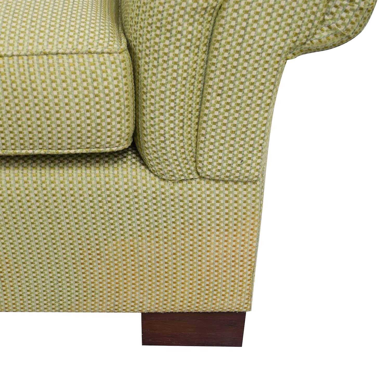 shop Furniture Masters Green Three Seater Sofa Furniture Masters Classic Sofas