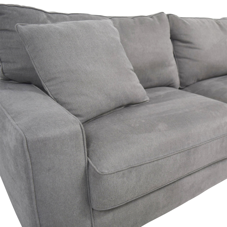 buy Serta Serta Grey Loveseat with Toss Pillows online