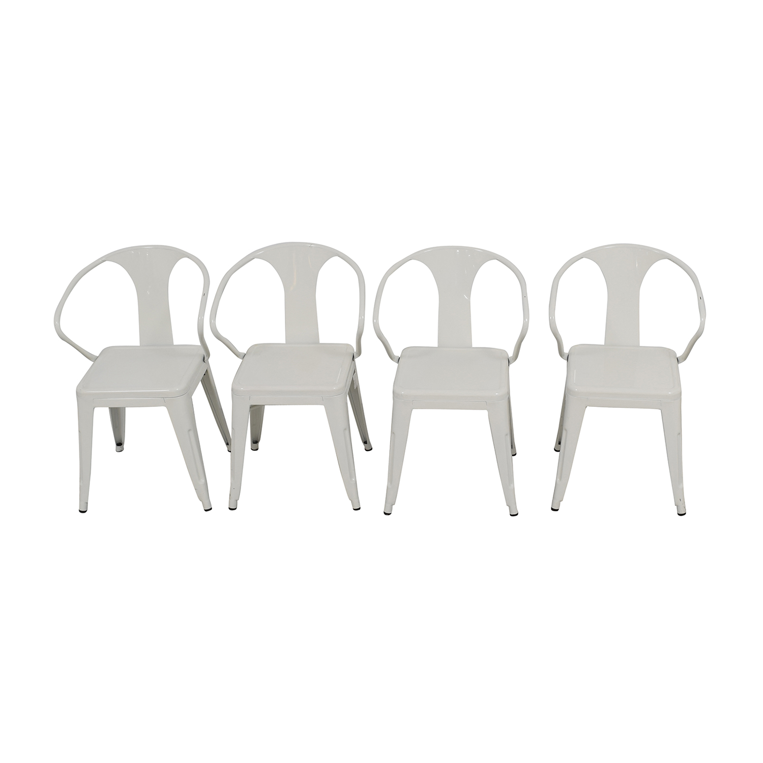 Overstock Overstock White European Chairs for sale