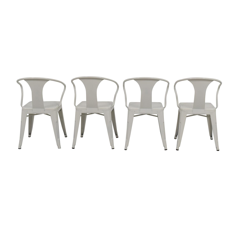 Overstock White European Chairs Overstock