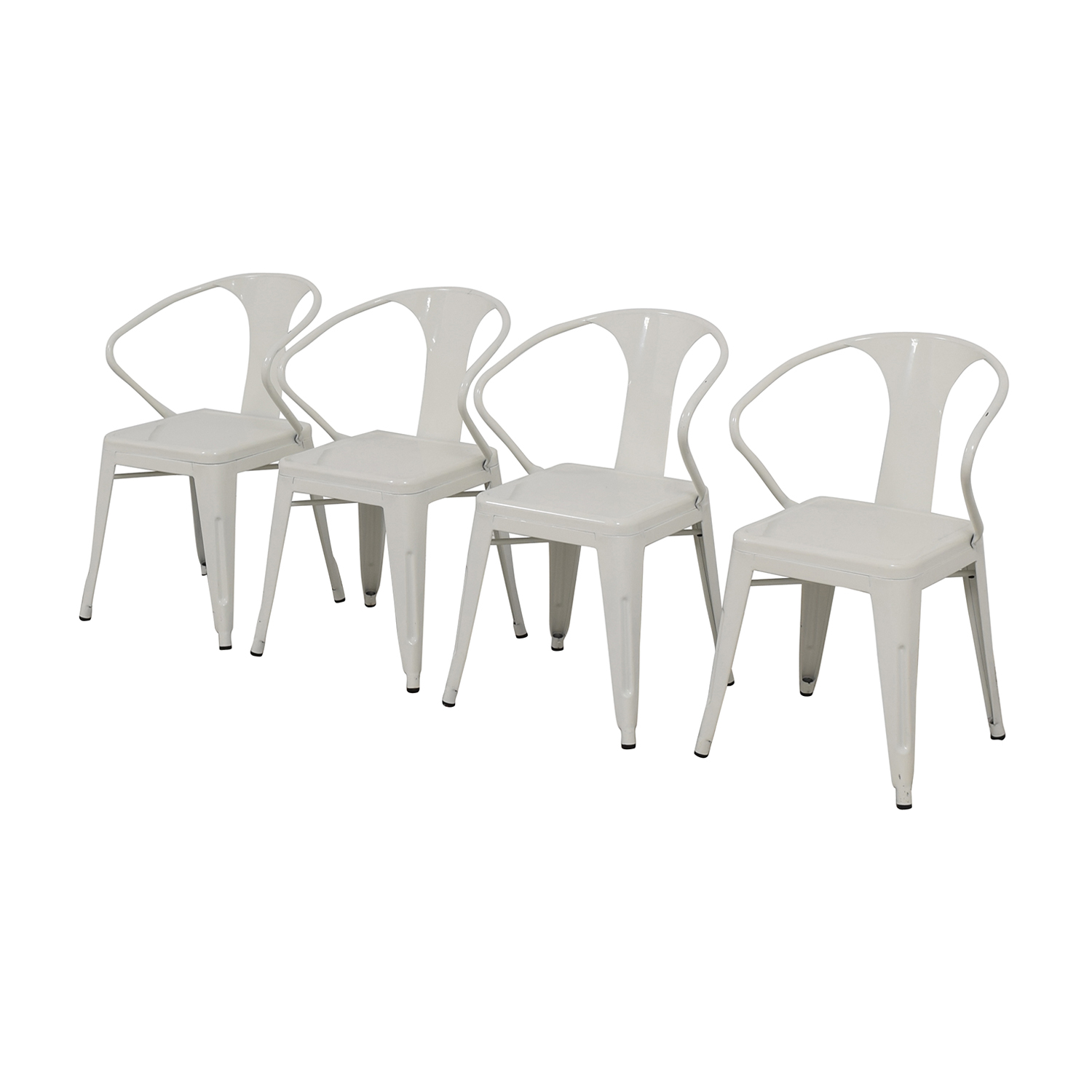 Overstock White European Chairs sale
