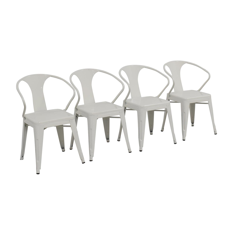 buy Overstock White European Chairs Overstock