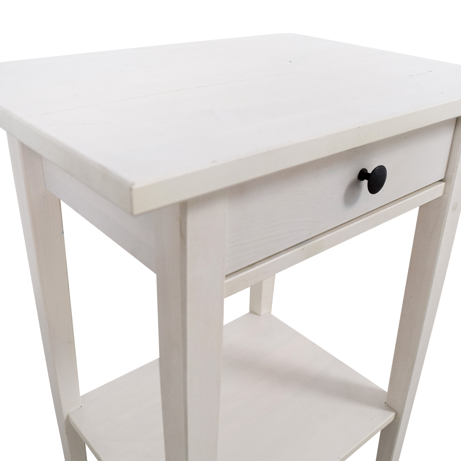 IKEA Hemnes White Night Table sale