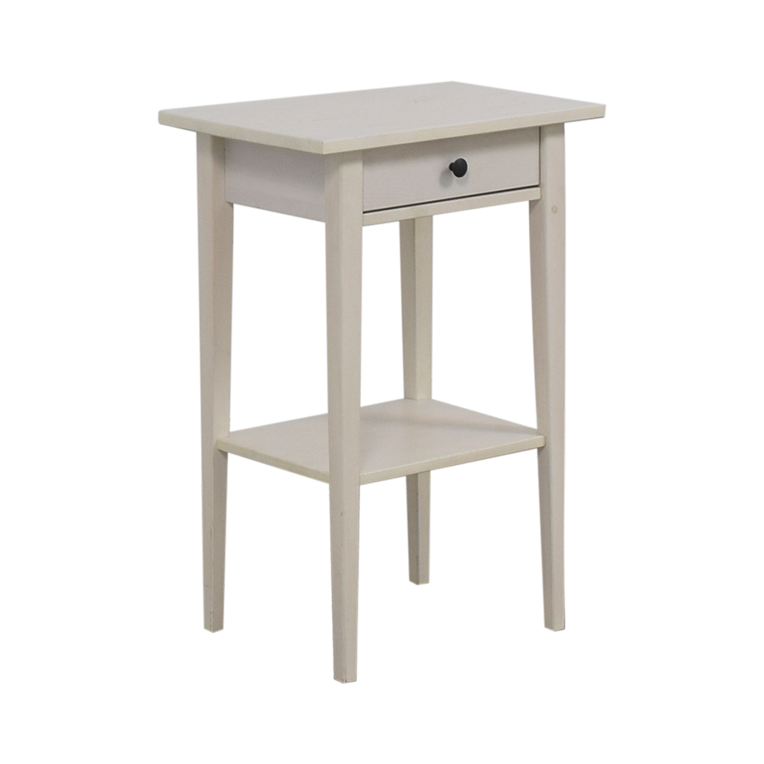 84 off ikea ikea hemnes white night table tables for Ikea comodino hemnes