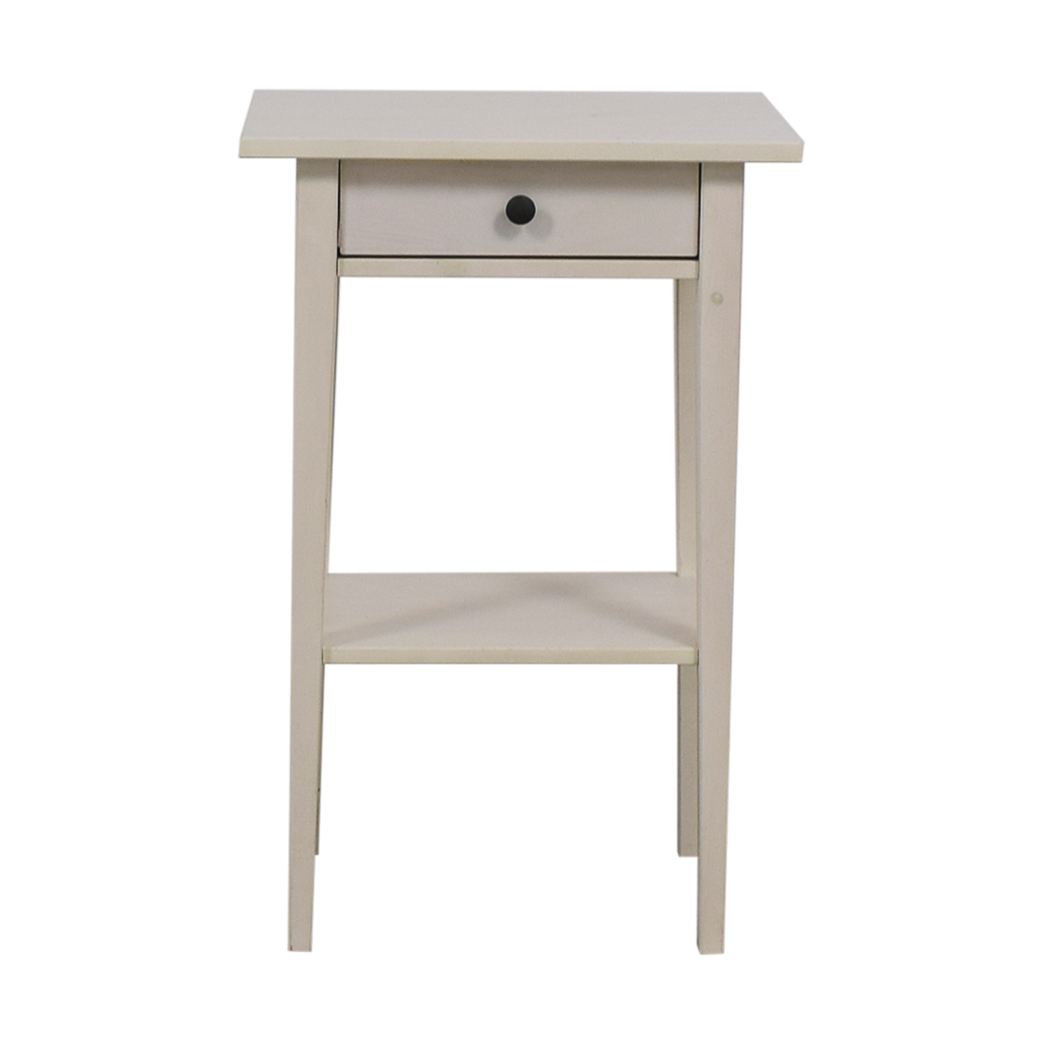 Ikea Hemnes White Night Table Nj