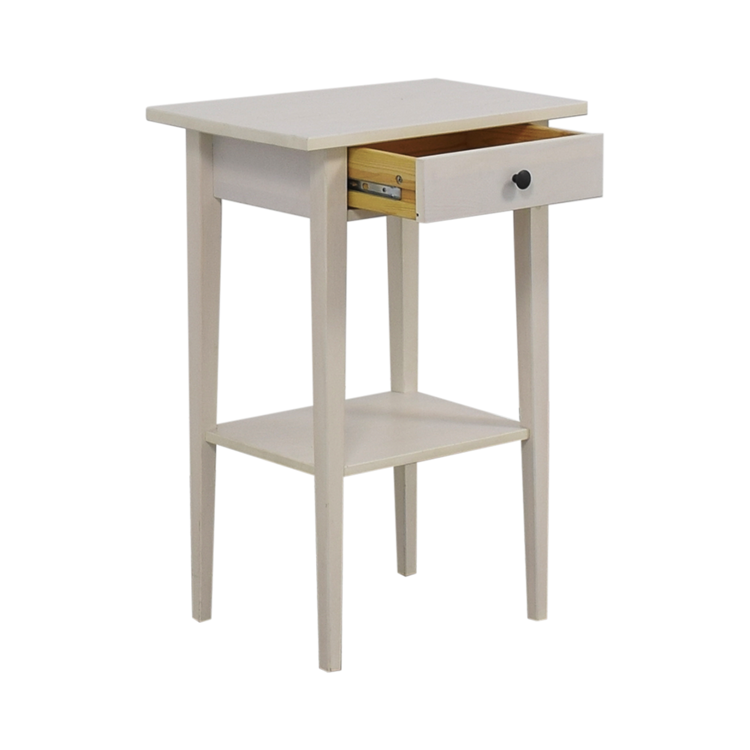shop IKEA Hemnes White Night Table IKEA Tables