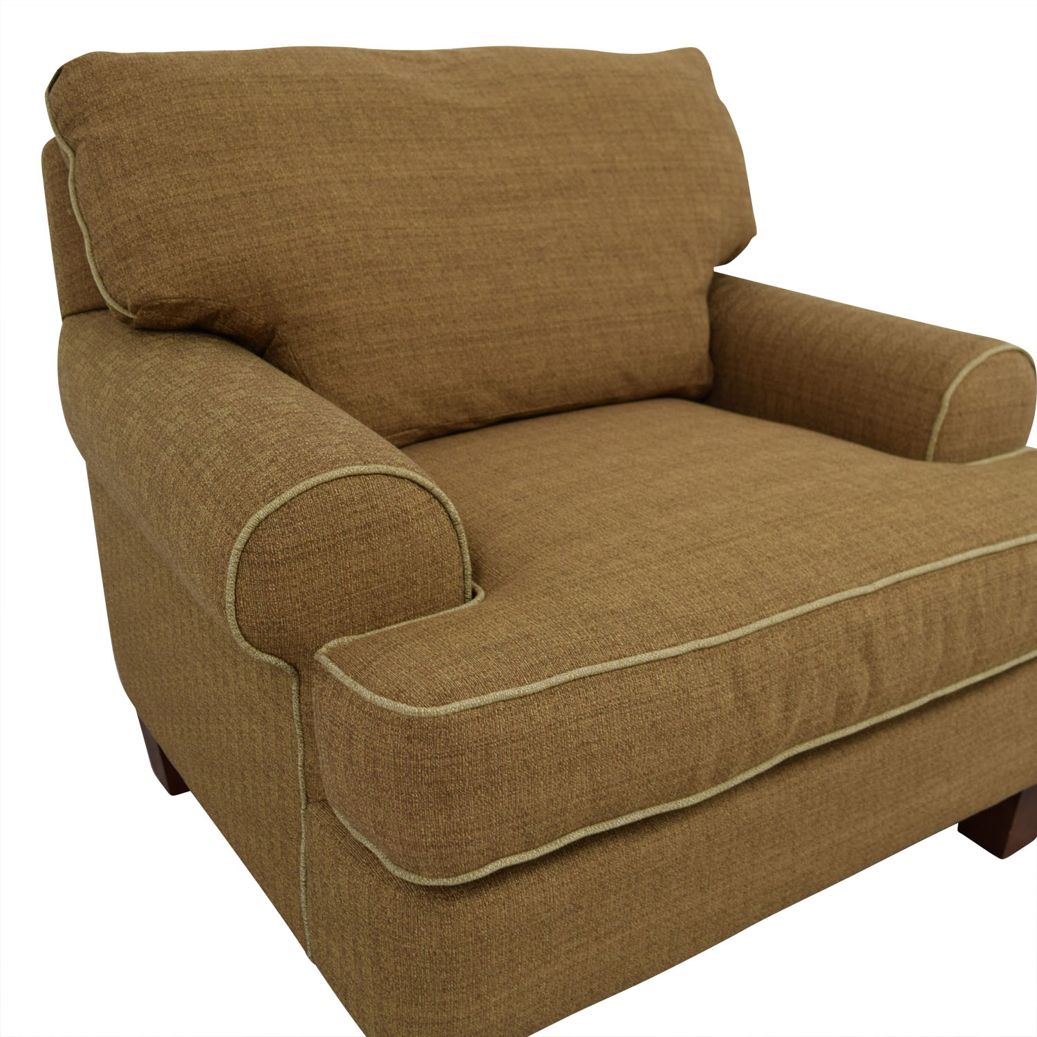 Braxton Culler Braxton Culler Brown Upholstered Chair second hand