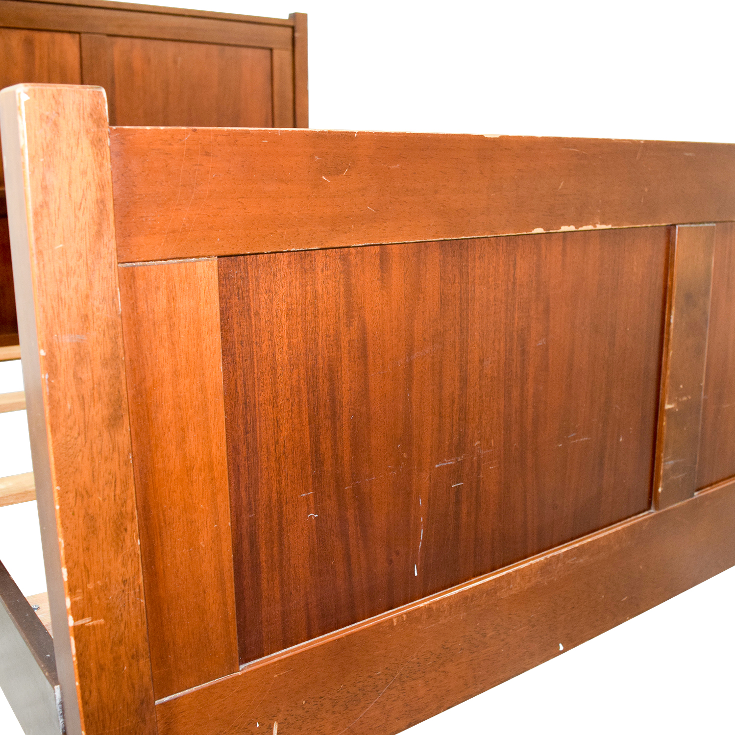 Pottery Barn Pottery Barn Wood Full Bed Frame on sale