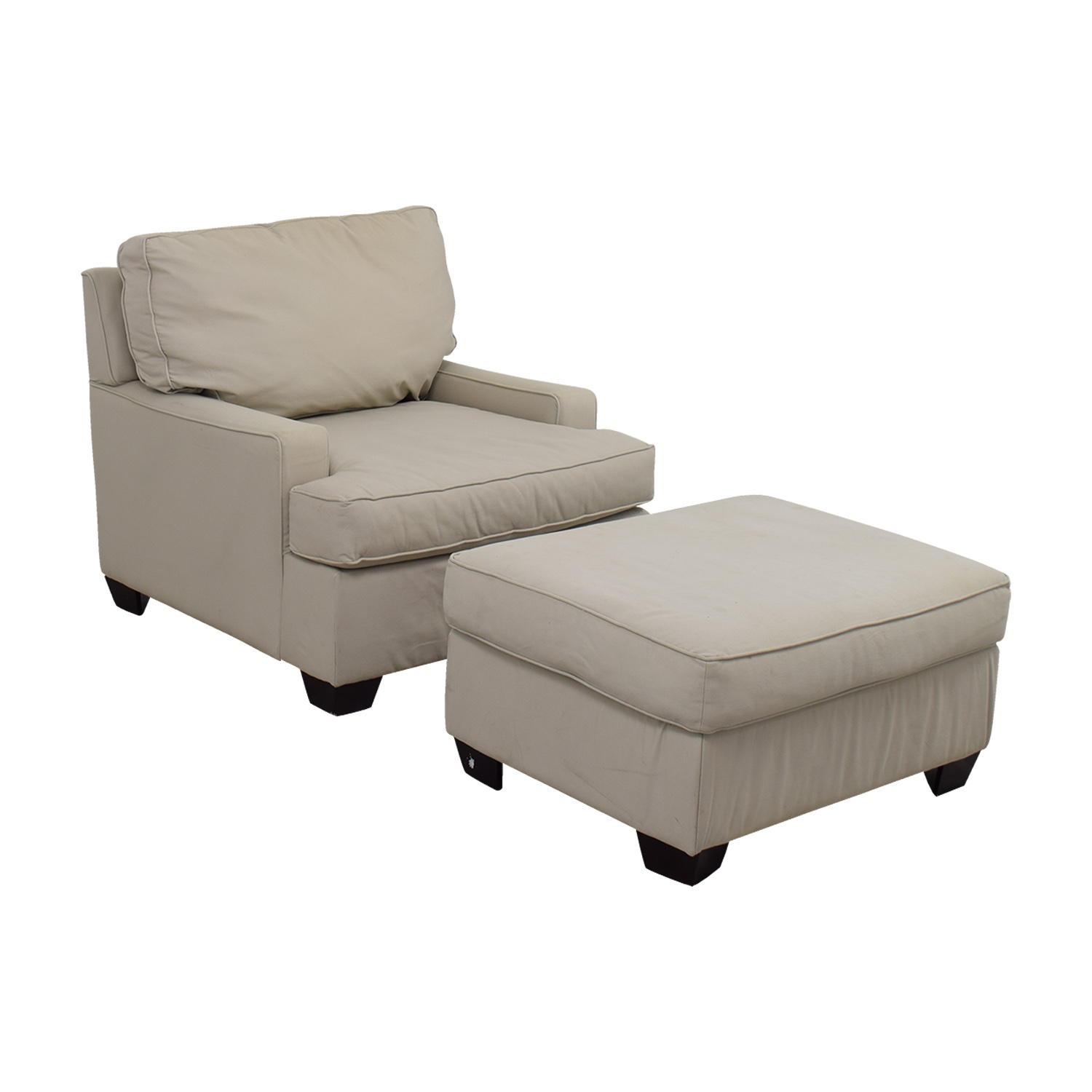 Pottery Barn Chairs Accent: Pottery Barn Pottery Barn Buckwheat Sofa Chair