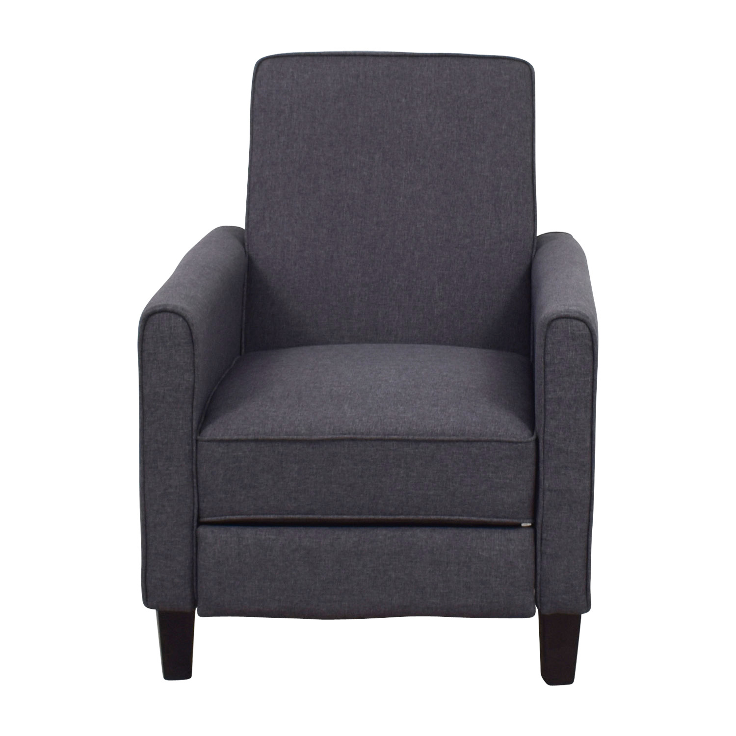 shop Christopher Knight Home Darvis Grey Recliner Club Chair Christopher Knight Home