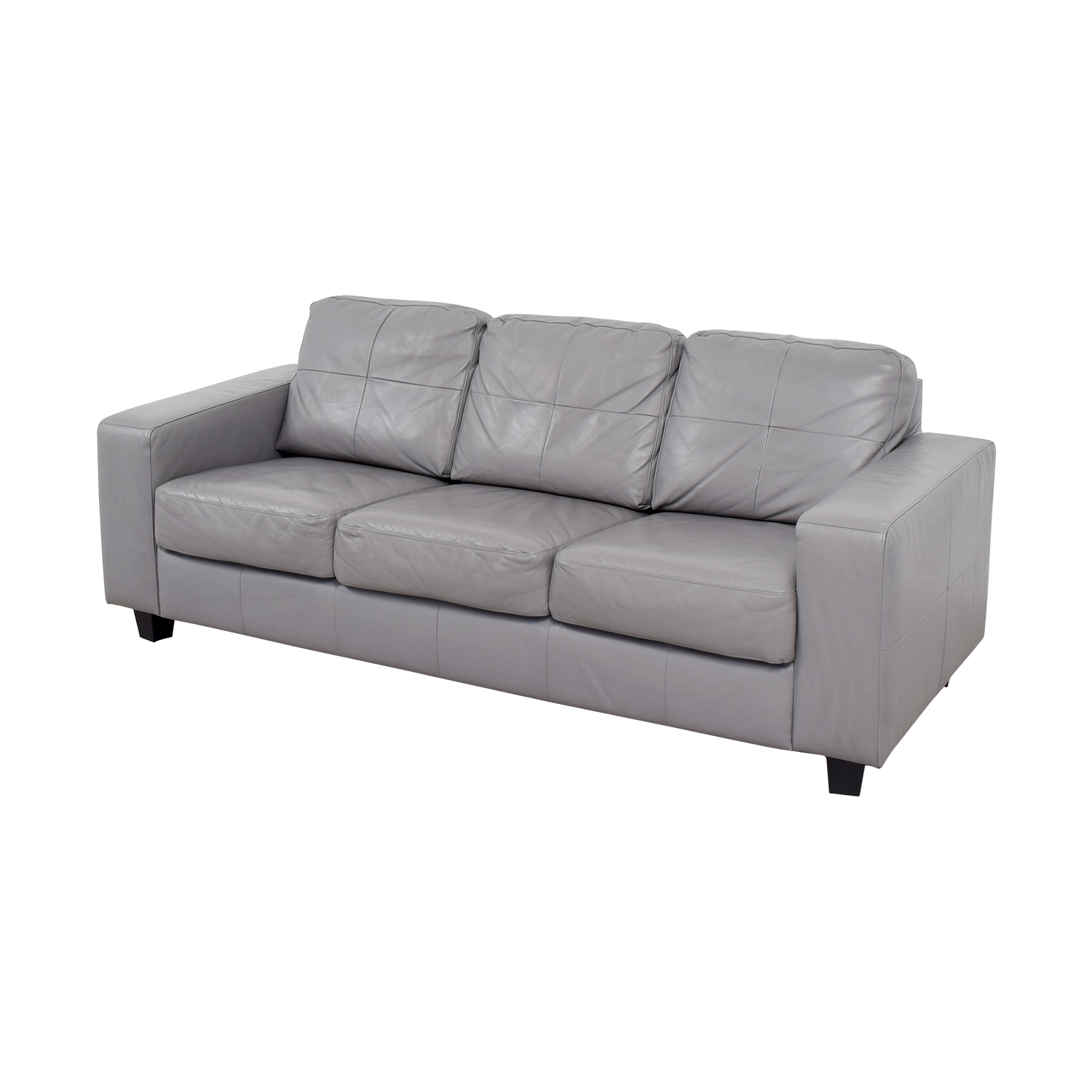 53 off ikea ikea skogaby light grey sofa sofas for Ikea gray sofa