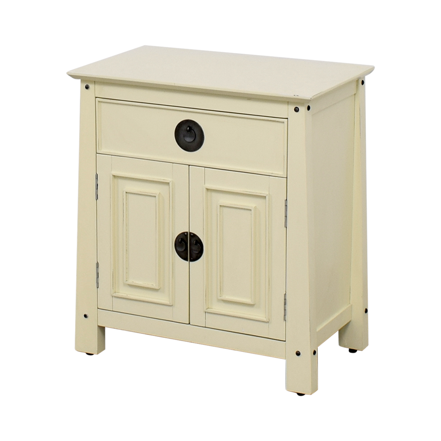 Pier 1 Pier 1 Shanghai Collection Bedside Chest Cream