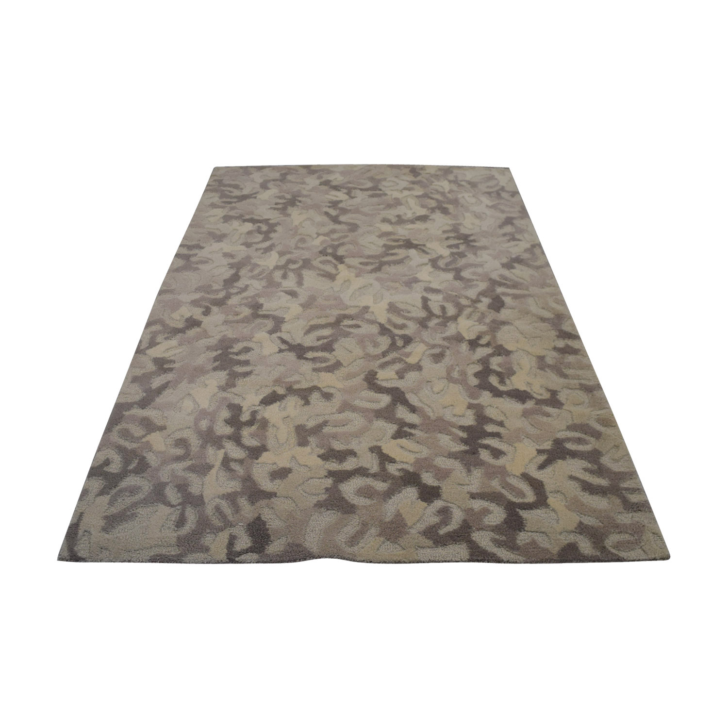 Navy Leopard Print Rug: Rugs: Used Rugs For Sale