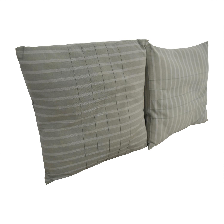 Calvin Klein Calvin Klein Blue Decorative Pillows second hand