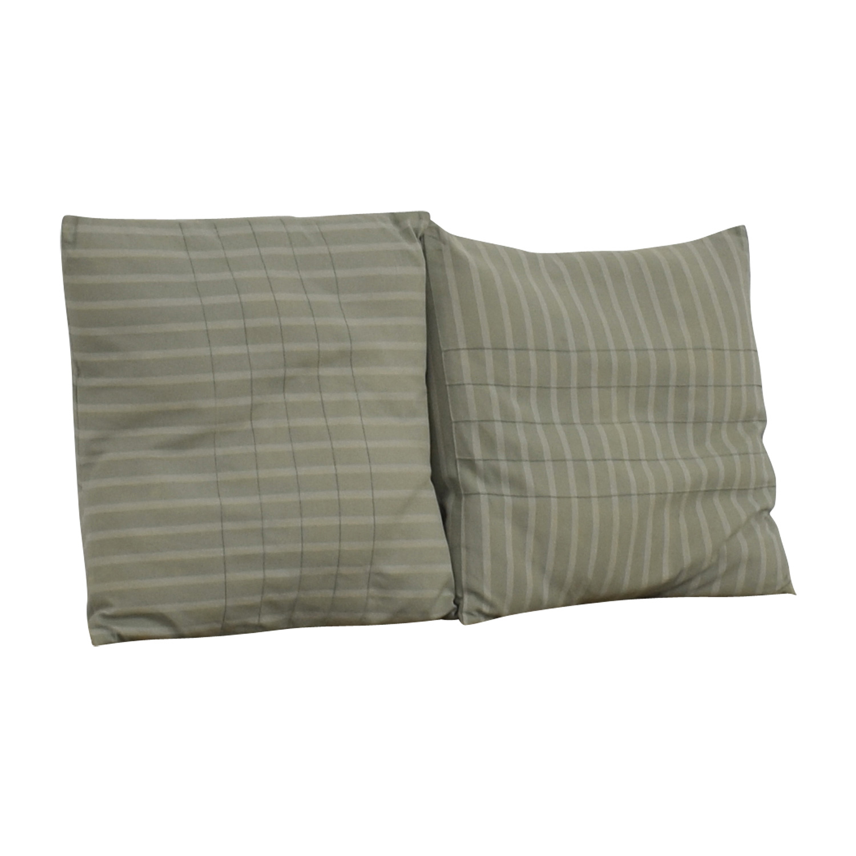 Calvin Klein Calvin Klein Blue Decorative Pillows nyc