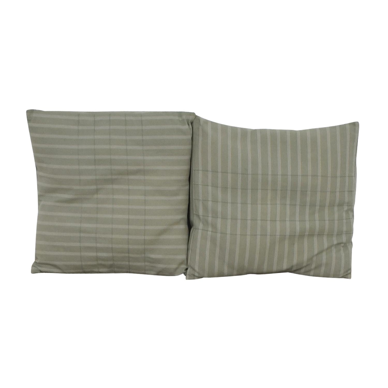 Calvin Klein Calvin Klein Blue Decorative Pillows for sale